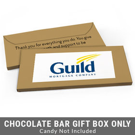 Deluxe Personalized Add Your Logo Business Candy Bar Favor Box