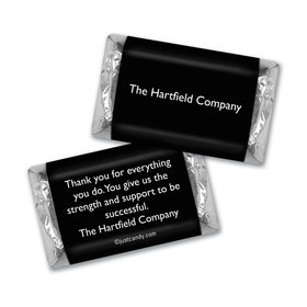 Personalized Hershey's Miniatures - Business Promotional Business Card