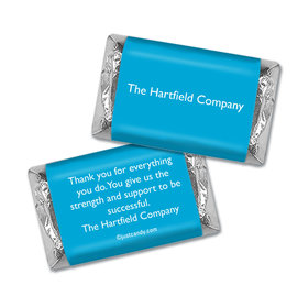 Personalized Hershey's Miniature Wrappers Only - Business Promotional Business Card