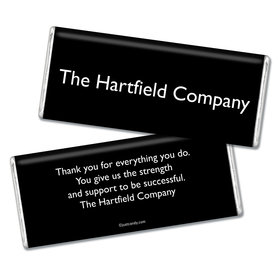 Business Promotional Personalized Chocolate Bar Business Card