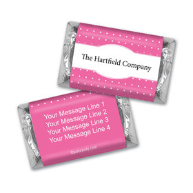 Personalized Hershey's Miniatures - Business Promotional Pin Dots