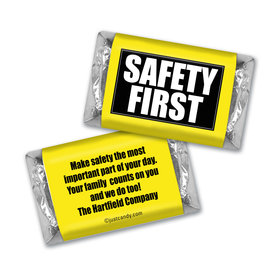 Personalized Hershey's Miniatures - Business Promotional Safety First