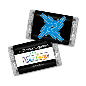 Personalized Hershey's Miniature Wrappers Only - Business Team Teamwork Puzzle