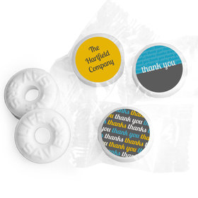 Brilliance Personalized Thank You LIFE SAVERS Mints Assembled