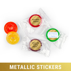 Personalized Life Savers 5 Flavor Hard Candy - Metallic Business Add Your Logo
