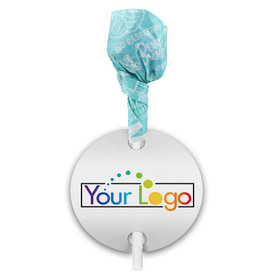 Business Promotional Add Your Logo Dum Dums with Gift Tag (75 pops)