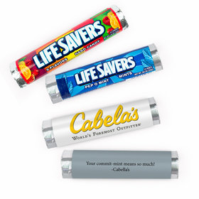 Personalized Business Add Your Logo Lifesavers Rolls (20 Rolls)
