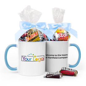 Personalized Add Your Logo 15oz Mug with Hershey's Miniatures
