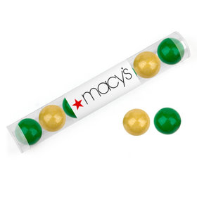 Personalized St. Patrick's Day Add Your Logo Gumball Tube