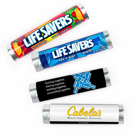 Personalized Teamwork Puzzle Lifesavers Rolls (20 Rolls)