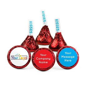 Personalized Business Promotional Prestige Hershey's Kisses (50 pack)