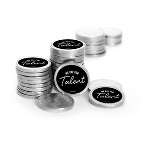 Business We Pay for Talent Chocolate Foiled Coins (84 Pack)