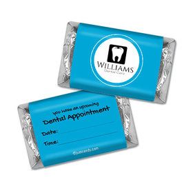 Personalized Hershey's Miniatures - Add Your Logo Dental Appointment