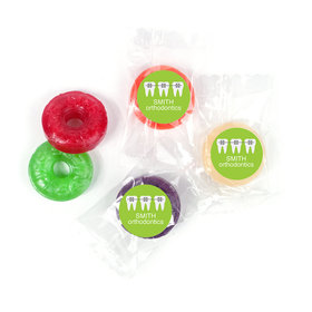 Personalized Orthodontic Braces Life Savers 5 Flavor Hard Candy