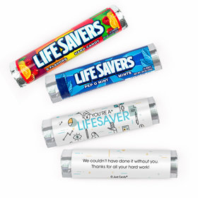 Personalized Business Appreciation You're a Lifesaver - 20 Rolls