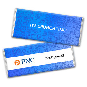 Personalized Chocolate Bar & Wrapper - It's Crunch Time