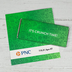 Personalized Chocolate Bar Wrappers Only - It's Crunch Time