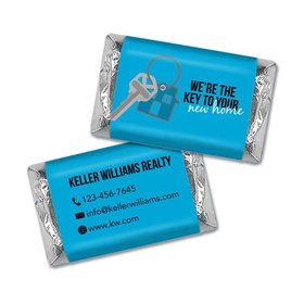 Personalized Hershey's Miniatures - New Home Keys