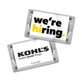 Personalized Hershey's Miniature Wrappers Only - We're Hiring