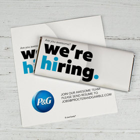 Personalized Chocolate Bar Wrappers Only - We're Hiring