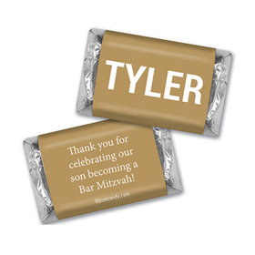 New Man Personalized Miniature Wrappers