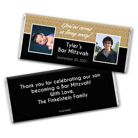 Becoming a Man Personalized Candy Bar - Wrapper Only