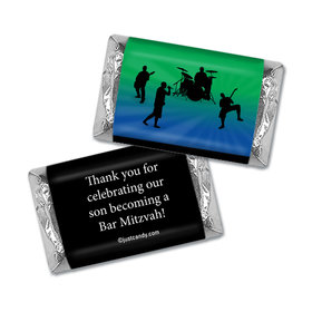 Bar & Bat Mitzvah Personalized HERSHEY'S MINIATURES Wrappers