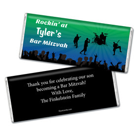 Bar Mitzvah Personalized Chocolate Bar