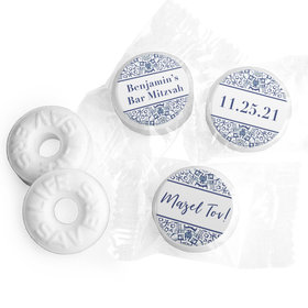 Personalized Bar Mitzvah Judaic Joy Life Savers Mints