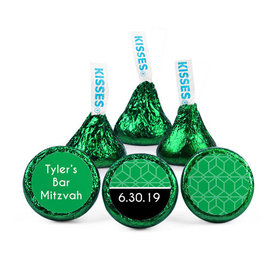 Personalized Bar Mitzvah Becoming a Man Hershey's Kisses (50 pack)