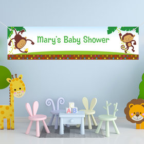 Personalized Fisher Price Baby 5 Ft. Banner