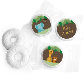 Wild Personalized Baby Shower LifeSavers 5 Flavor Hard Candy Assembled