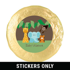 "Jungle Buddies 1.25"" Sticker (48 Stickers)"