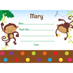 Fisher Price Baby Personalized Thank You Note