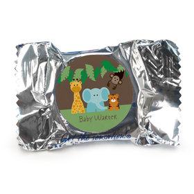 Baby Shower Personalized York Peppermint Patties Jungle Safari Animals (84 Pack)