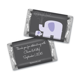 Elephant Shower MINIATURES Candy Personalized Assembled