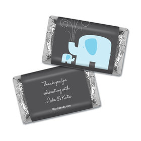 Elephant Shower Personalized Miniature Wrappers