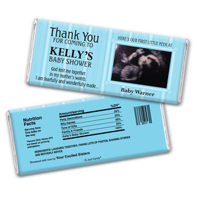 First Peek Personalized Candy Bar - Wrapper Only