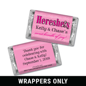 HERESHEIS Bundle of Joy Personalized Miniature Wrappers