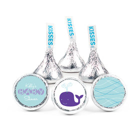Baby Whale Baby Shower HERSHEY'S KISSES Candy Assembled