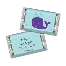 Whale Babies Personalized Miniature Wrappers