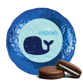 Whale Babies Milk Chocolate Covered Oreo Cookies Assembled
