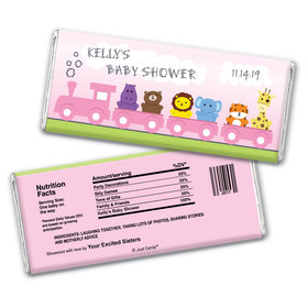 Baby Express Personalized Candy Bar - Wrapper Only