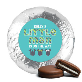 Bow Tie Baby Belgian Chocolate Covered Oreo Cookies Assembled (24 Pack)