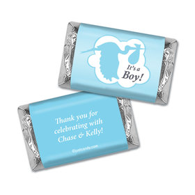 Here Comes the Stork Personalized Miniature Wrappers