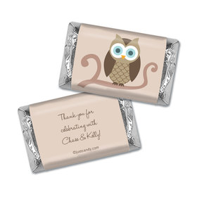Look Whoo Personalized Miniature Wrappers