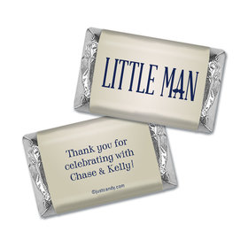 Little Man Personalized Miniature Wrappers