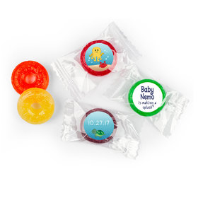Bubble Bea Personalized Baby Shower LifeSavers 5 Flavor Hard Candy Assembled