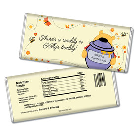 Personalized Baby Shower Chocolate Bar What's Inside?