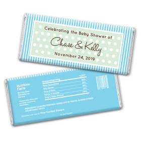 Whoa Baby Personalized Candy Bar - Wrapper Only